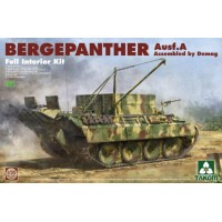 Takom 1/35 Bergepanther Ausf.A Assembled by Demag production w/ full interior kit