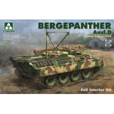 Takom 1/35 Bergepanther Ausf.D Umbau Seibert 1945 production w/ full interior kit