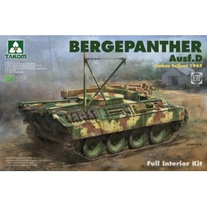 Takom 1/35 Bergepanther Ausf.D Umbau Seibert 1945 production w/ full interior kit