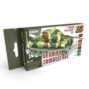 GERMAN GREEN AND BROWN MODULATION SET SALE!