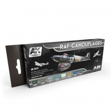 RAF CAMOUFLAGES COLORS SET - Special offer -40%