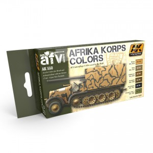 AFRIKA KORPS COLORS SET SALE