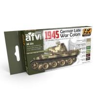 1945 GERMAN LATE WAR COLORS SET - SALE