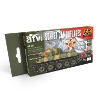 SOVIET CAMOUFLAGES COLORS SET