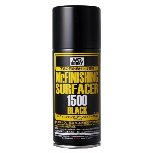 Gunze Mr Surfacer 1500 spray Black