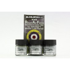 Gunze RAF Mid Late paints set CS684