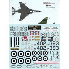 Icarus Decals Hellenic Phantoms F-4E 1/32