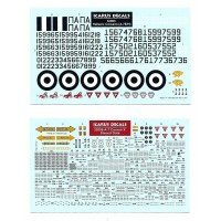 Icarus Decals HAF A-7 Corsairs 1/32