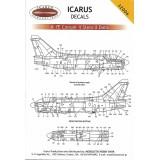 Icarus Decals A-7 stencils 1/32