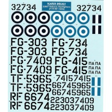 Icarus Decals HAF F-104G Starfighters 1/32