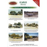 Icarus Decals HAF jets part 2 1/48