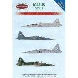 Icarus Decals HAF Freedom Fighters part 1 1/48
