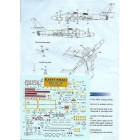 Icarus Decals F/RF-84F stencils 1/48