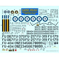 Icarus Decals HAF F-86D Sabre Dogs 1/48