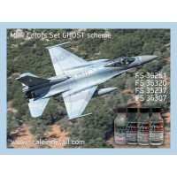 Hellenic Air Force, F-16, F-4 Ghost Camouflage Scheme. Mr Paint colors