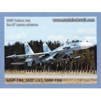 MRP-SU27 Su-27 paint set