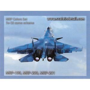 MRP-SU33 paint set for Su-33