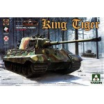 Takom 1:35 Sd.Kfz.182 King Tiger Henschel Turret w/interior [without Zimmerit] PRE-ORDER