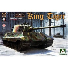 Takom 1:35 Sd.Kfz.182 King Tiger Henschel Turret w/interior [without Zimmerit]