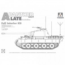 Takom 1/35 Sd.Kfz.171/267 Panther A late production w/ full interior kit 2 in 1 PRE-ORDER