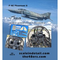 F-4E HAF AUP (Avionics Upgrade Program) conversion set (limited production set) 1/48