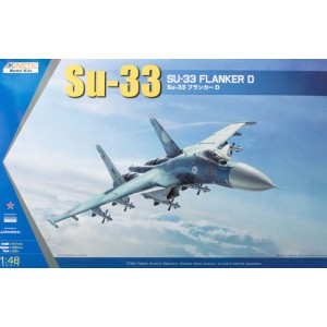 Kinetic Su-33 Flanker D 1/48
