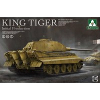 Takom 1/35 King Tiger initial production 4 in 1 PRE-ORDER