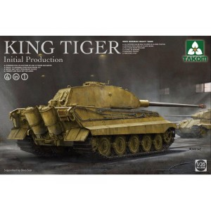 Takom 1/35 King Tiger initial production 4 in 1